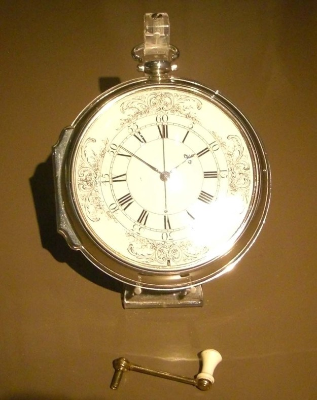 Harrison's Chronomter H4 - Which Proved the Practicality of Chronometers to Determine Longitude at Sea