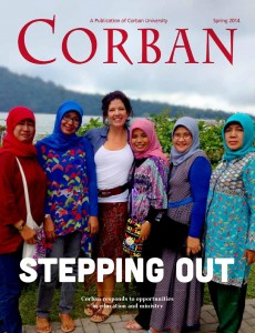 The Summer 2014 and Fall 2014 issues of CORBAN Magazine both focus on our University's Global Initiatives