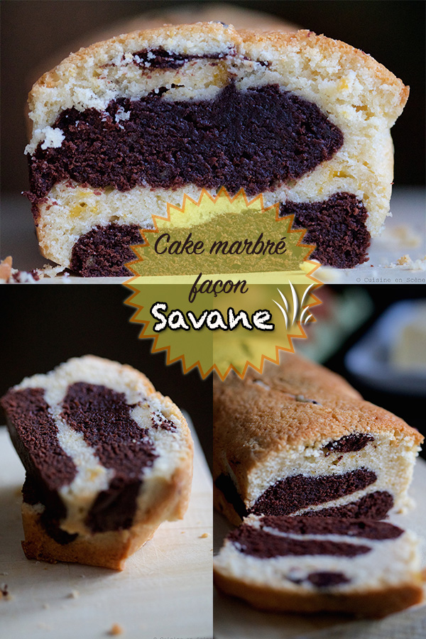 Cake Marbr Faon Savane Cuisine En Scne Le Blog