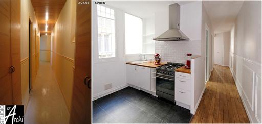 Ouvrir La Cuisine Sur Le Couloir Studio Darchi Le
