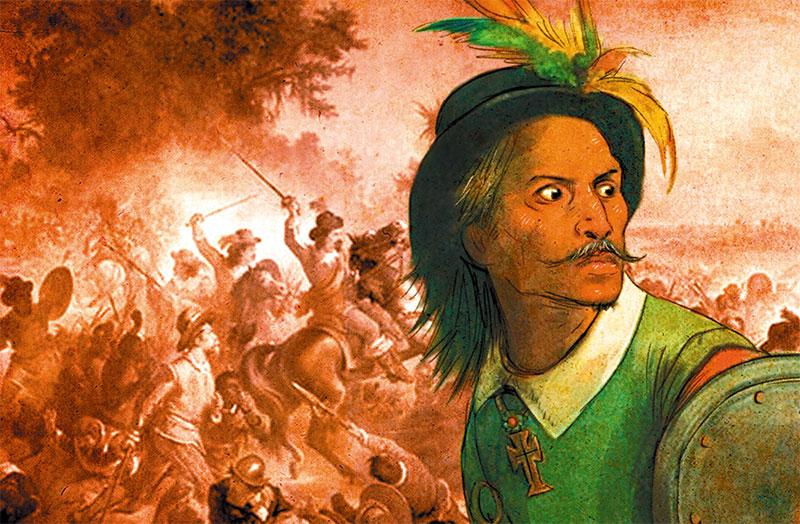 Resultado de imagem para portugues matando indio