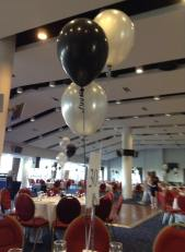 This is the room where the ball was held at aintree race course.