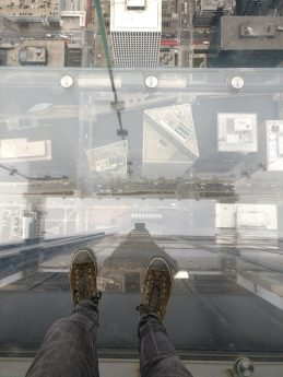 Ledge view from Skydeck