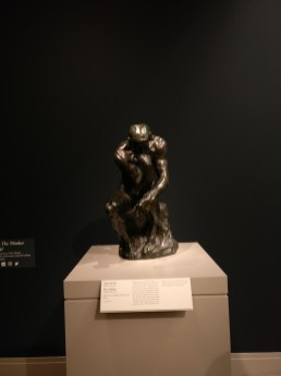 The Thinker and The Chicago Art Institute
