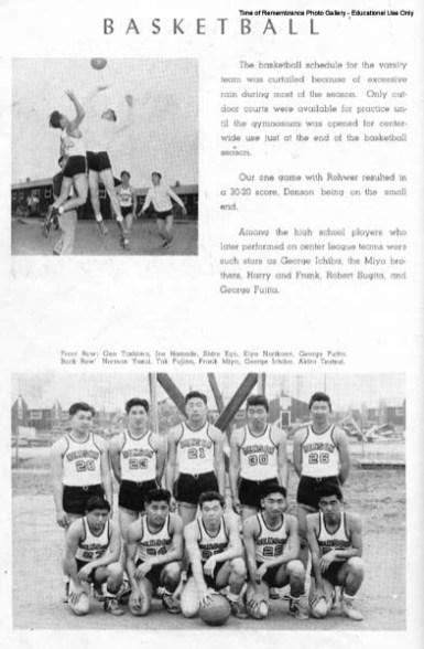 1944 Camp Denson Sports