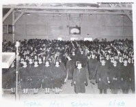 1945 Topaz High School Graduation