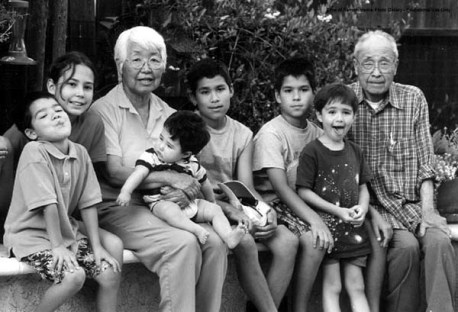 2000's - Joanne and her Grandkids