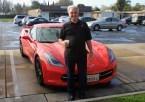 Joe and his Raven42 car