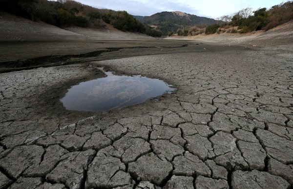 The Human Contribution to the California Drought