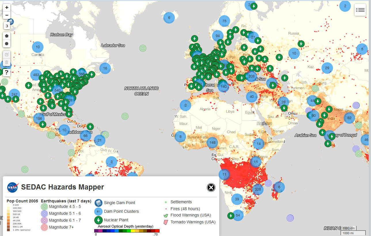 Mapping Tool Lets Users Pinpoint Hazards Data