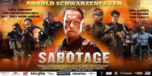 Sabotage poster, 01