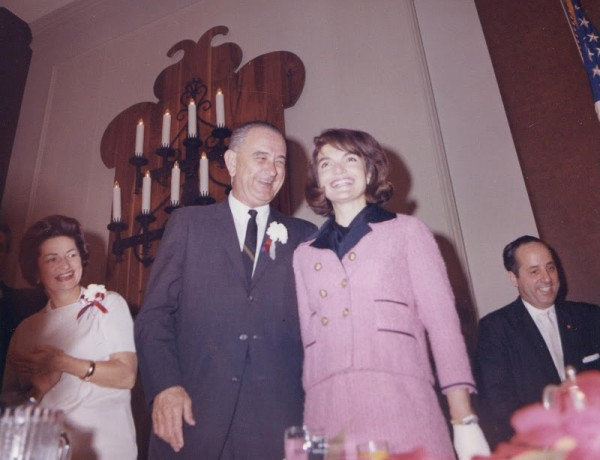 LBJ And Jackie In Ft. Worth