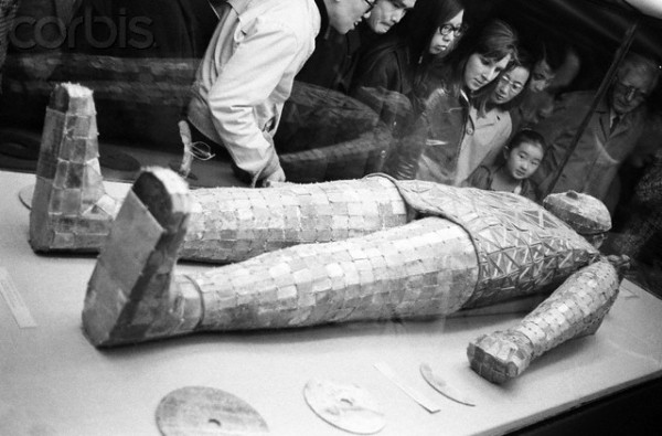 Chinese Mummy in Jade Suit