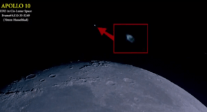 Un objeto similar ya había sido captado por el Apolo 10