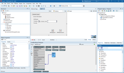 Modern Delphi has evolved side by side with C/C++ but retains its strong focus on visual programming