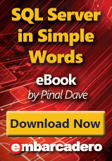 "Download eBook ""SQL Server in Simple Words"" by Pinal Dave"