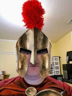 The Spartan runs code reviews.