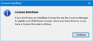 licenseinterbase