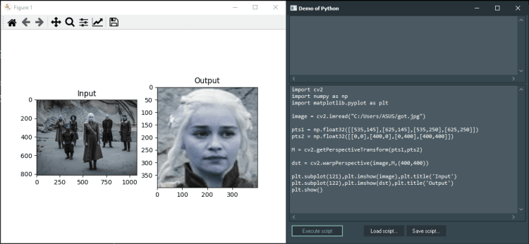 opencv machine learning demo