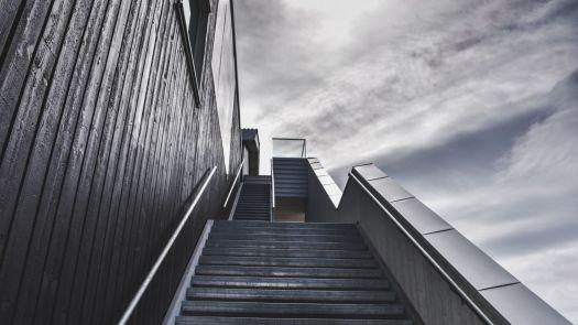 grey staircase