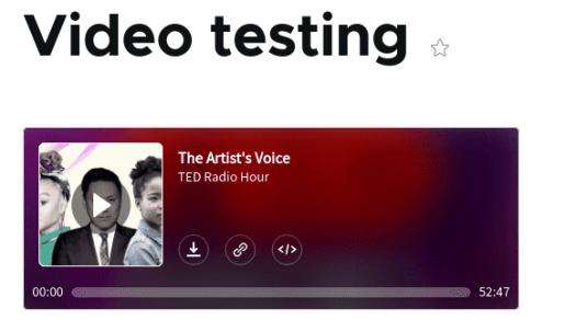 Video Testing