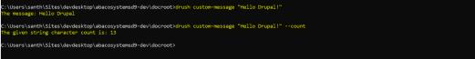 Custom-Message