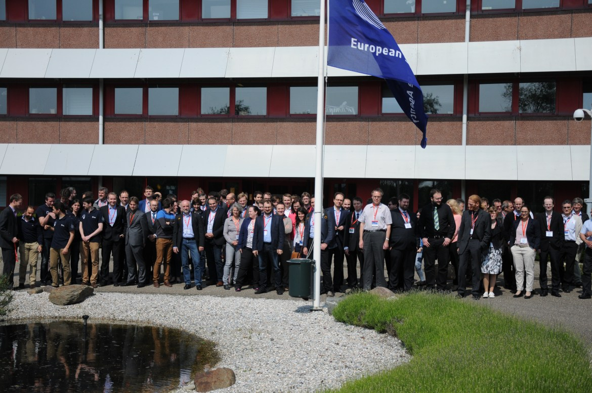 May 2016: over 230 participants attended the Clean Space industrial days Copyrights: ESA