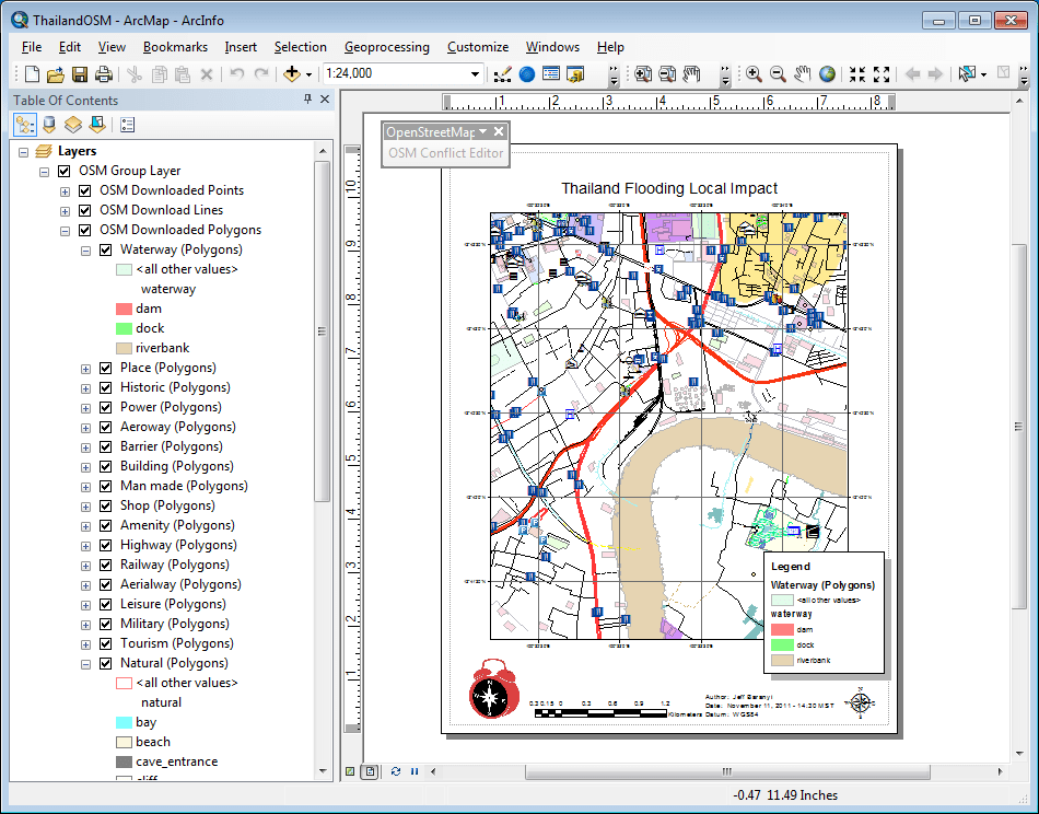 Getting Started with the ArcGIS Editor for Open Street Map