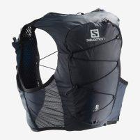 Die Laufweste  Salomon Active Skin 8 in Schwarz
