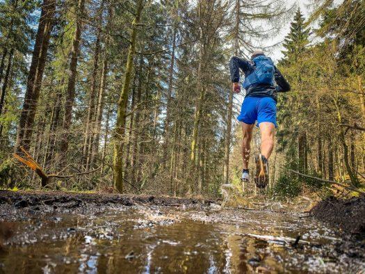 Trailrunning: Nils beim Schuhtest