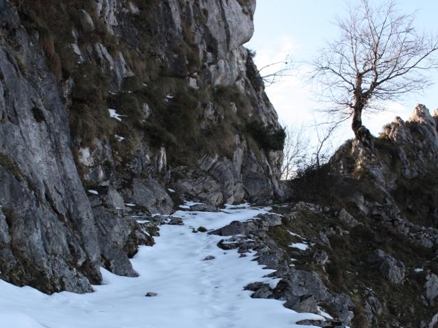 Camino subida Pico