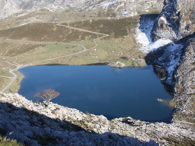 Lago desde la Porra