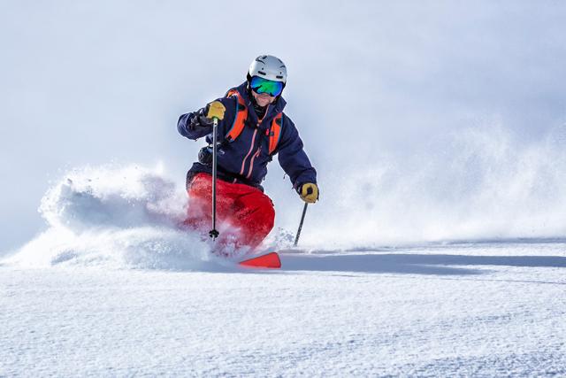 primer fin de semana de esquí