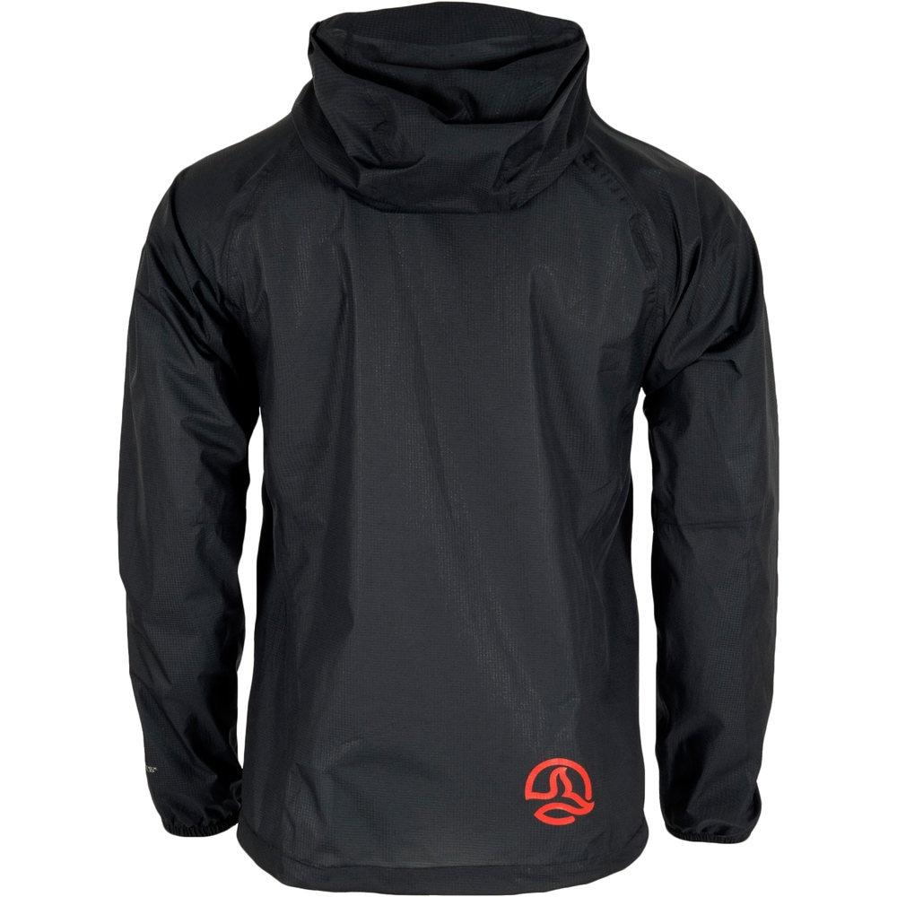 ternua neutrino chaqueta impermeable hombre