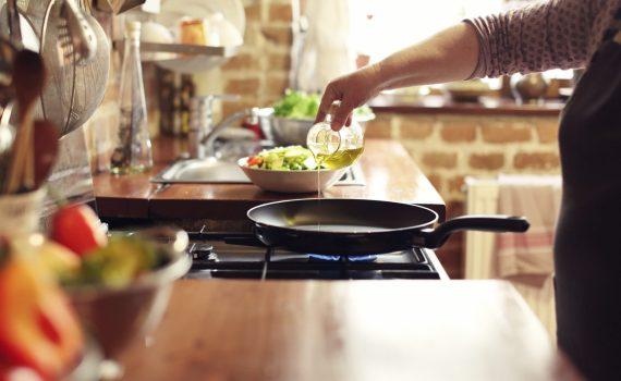 Le verdure: più salutari se cucinate con olio EVO