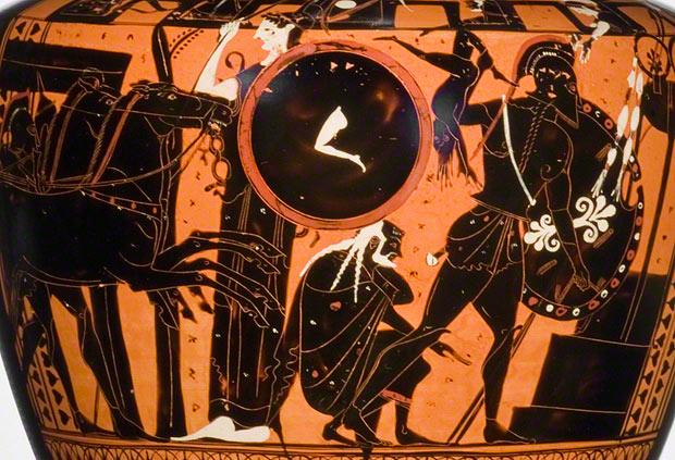 Image result for astyanax greek vase