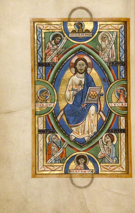 Christ in Majesty in the Stammheim Missal / German