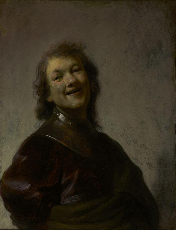 Rembrandt Laughing / Rembrandt Harmensz. van Rijn