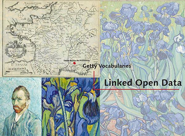 Linked Open Data / Vincent van Gogh's Irises