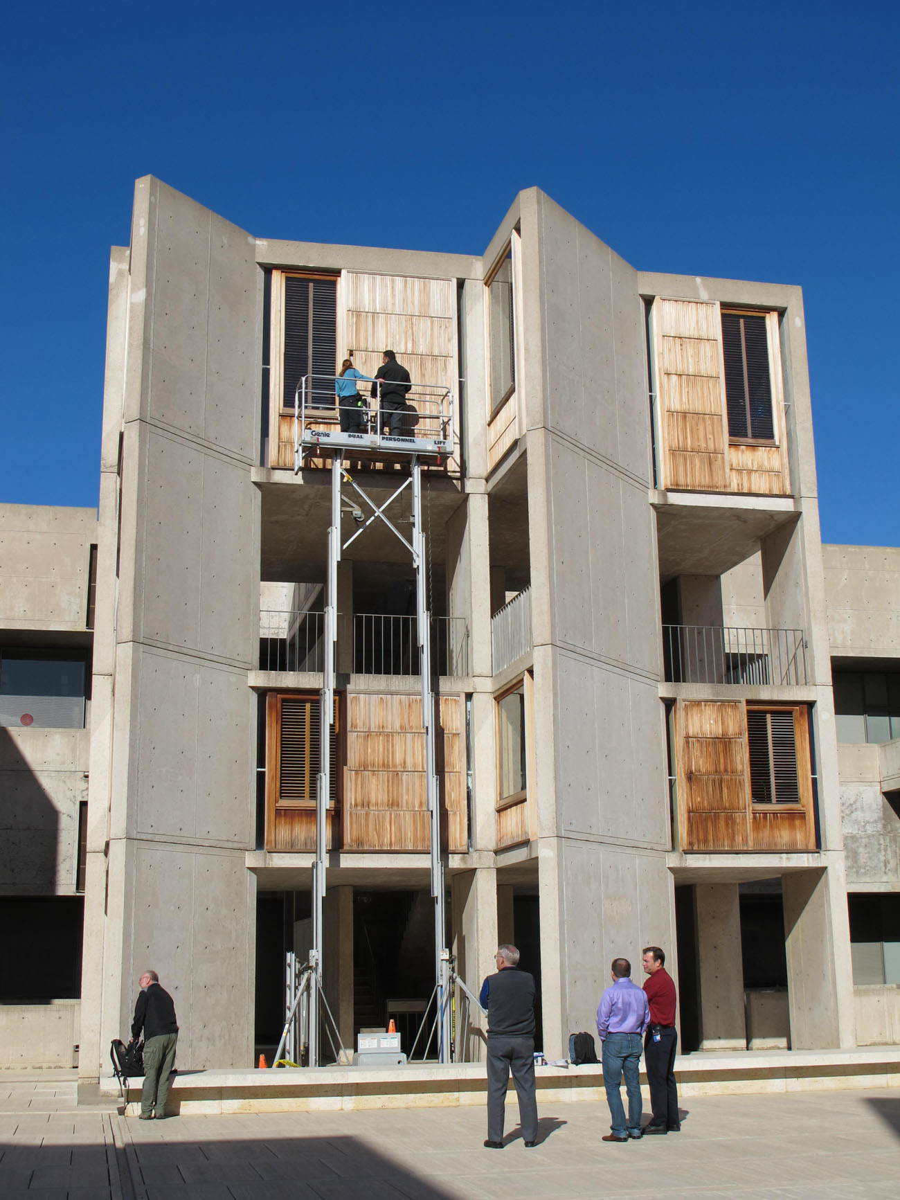 Inside The Conservation Work At The Salk Institute Louis