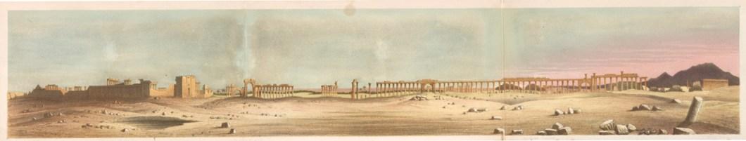 Panorama of Palmyra