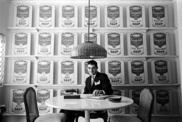 Irving Blum with Warhol's Campbell's Soup Cans » Pacific ...