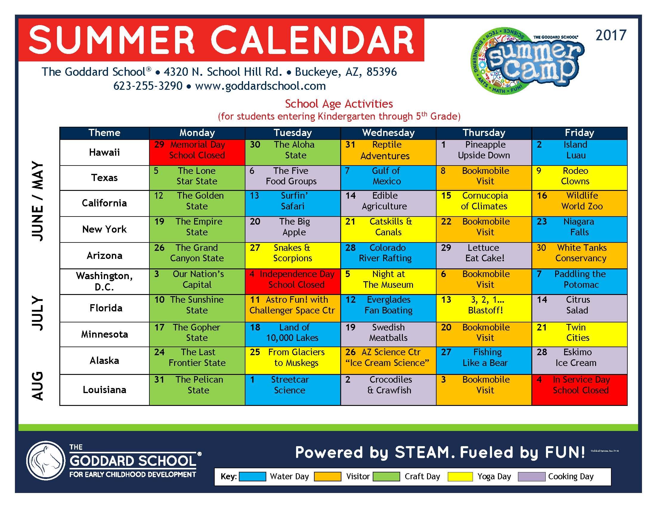 Summer Camp Buckeye