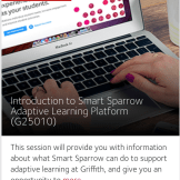 Intro to Adaptive Learning Smart Sparrow Workshop
