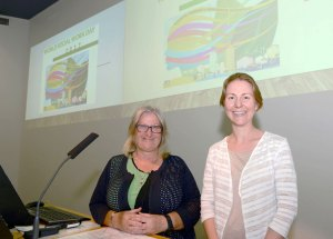 Social work lecturers Prof Donna McAuliffe and Dr Jennifer Boddy