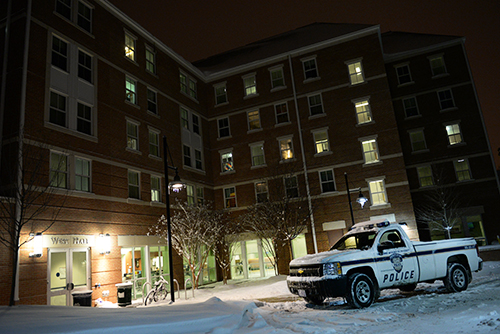 A student was found dead in West Hall on the Mount Vernon Campus on Tuesday evening. Samuel Klein | Photo Editor