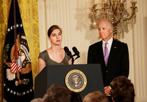Lilly Jay at the launch of White House Initiative