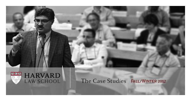 negotiation case studies harvard