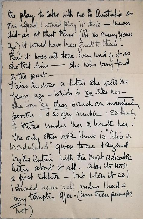 Minnie's letter, page 2