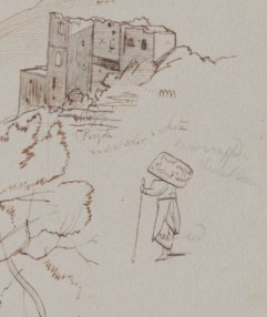 Near Pontone, 9 June 1844. Houghton Library, MS Typ 55.26 (270)